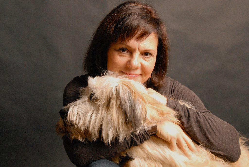 Christine Gigler mit Charly