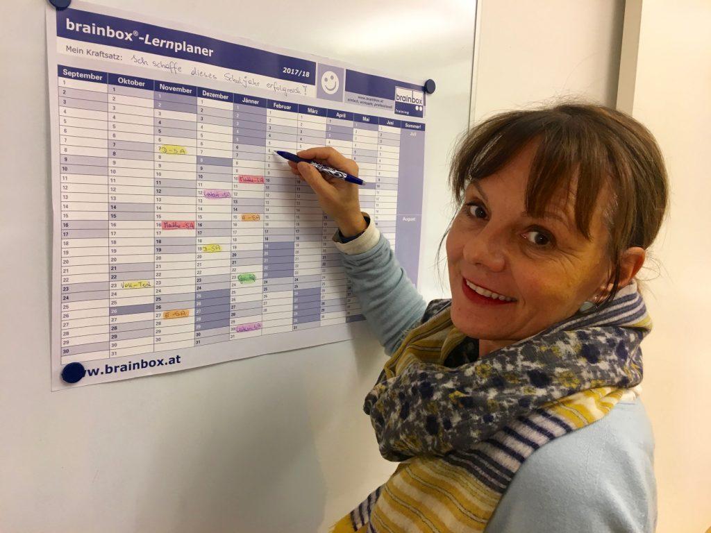 Lernplanung zur Prüfungsvorbereitung mit Christine Gigler