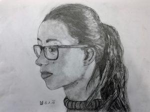 Zeichnung Mädchen